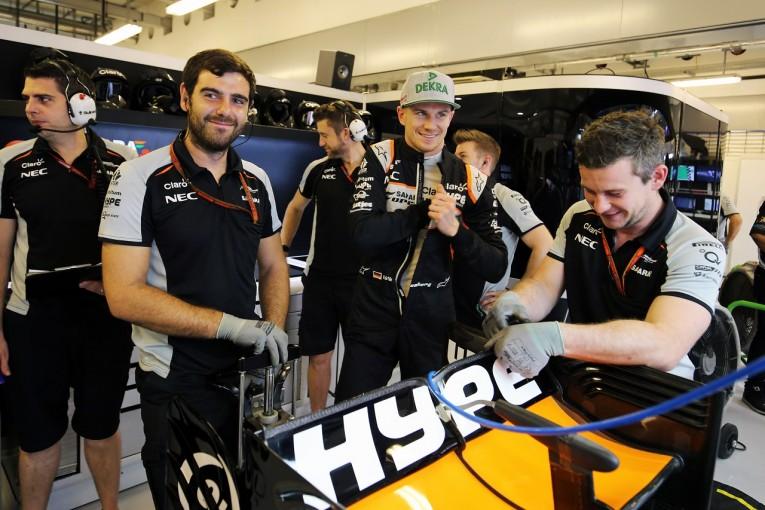 F1 | ヒュルケンベルグ「満足の予選。チームとの最後のレースでいい結果目指す」Fインディア F1アブダビ土曜