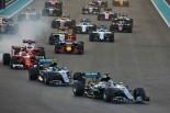 F1第21戦アブダビGP 決勝スタート