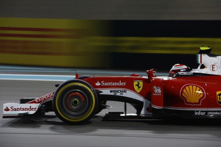 F1   ライコネン「クルマは悪くなかった。タイヤに苦労し順位を落とした」:フェラーリ F1アブダビGP日曜