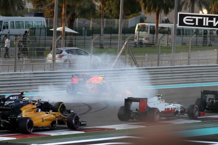 F1 | フェルスタッペン「接触の後、4位まで挽回。戦略が正解だった」:レッドブル F1アブダビGP日曜