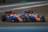 F1 | オコン「ありがとう、マノー。2017年はコース上でいい戦いをしよう」:F1アブダビGP日曜