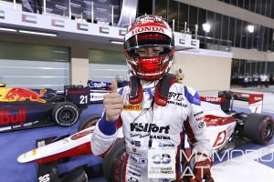 昨年のGP2アブダビで2位、モナコで優勝を飾った松下信治。