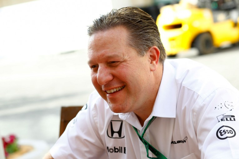 F1 | マクラーレンF1加入のザック・ブラウンが語る新要職の役割。「技術面でも関わっていくが、現体制の確認が重要」