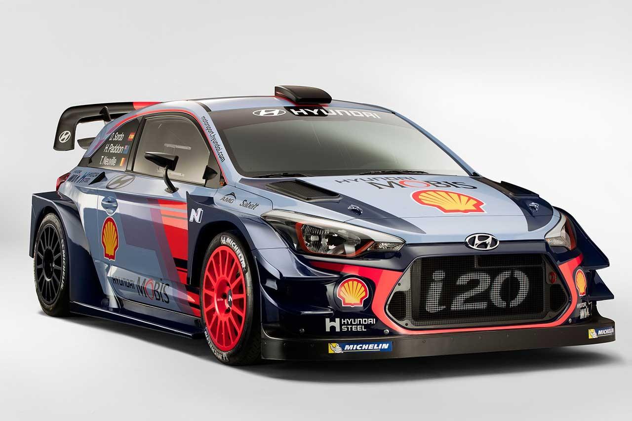 WRC:ヒュンダイ、17年WRCに投入する『i20クーペWRC』をアンベイル