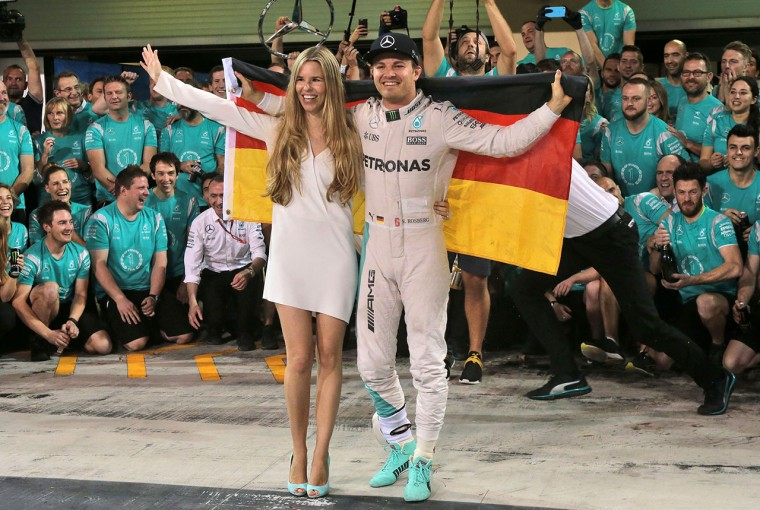 F1 | ロズベルグF1引退リリースコメント全文「家族全員が僕の目標のために犠牲を払ってくれた」