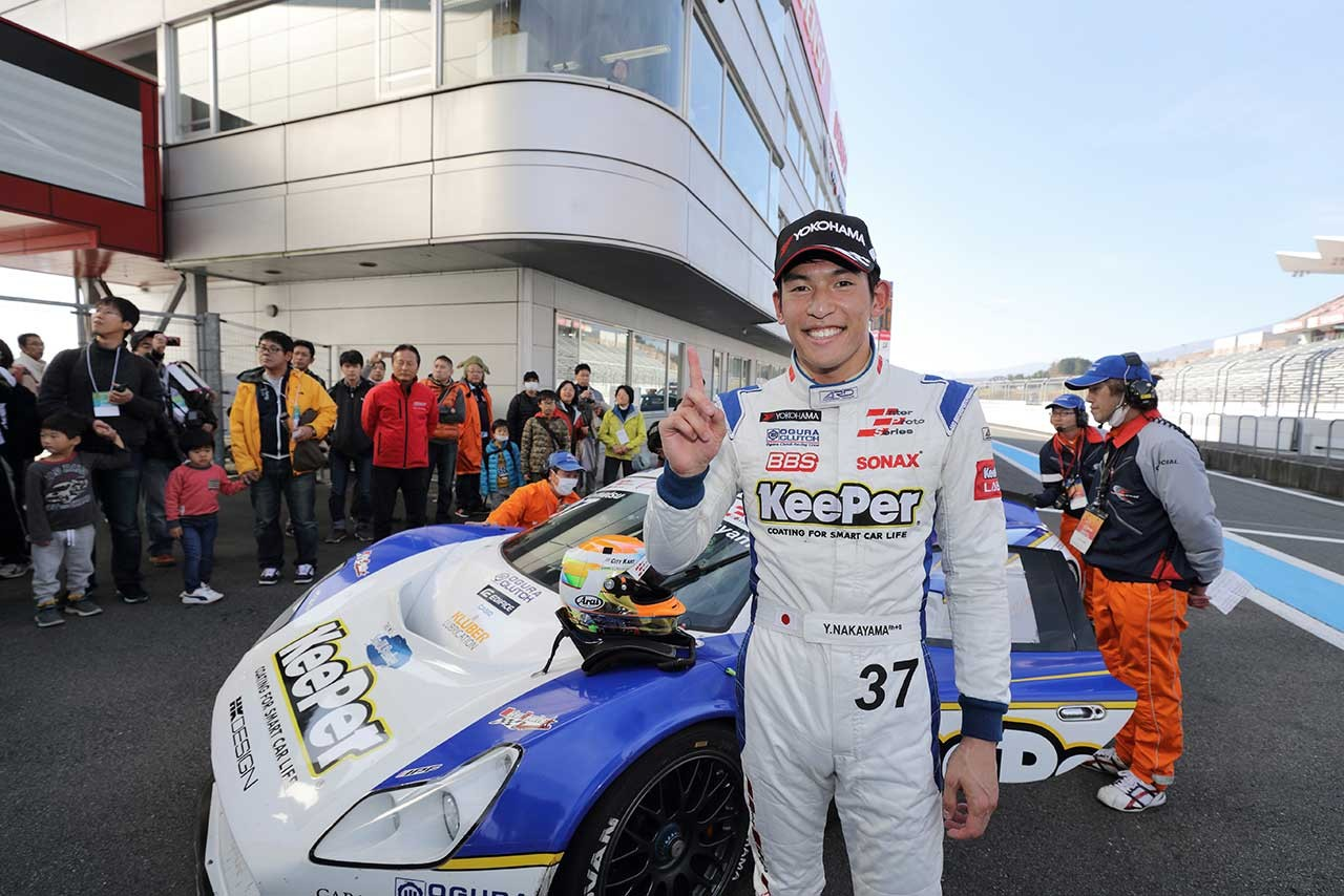 インタープロト最終大会、中山雄一が16年王者に。「GTもS耐も2位だったから満足」