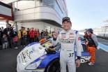 インタープロトの16年チャンピオンに輝いた中山雄一(MS☆S Syn駆Racing)