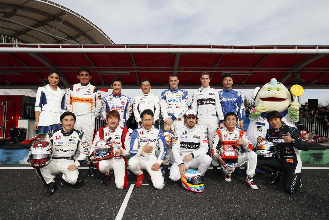 Honda Racingドライバー集合