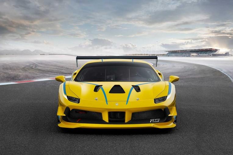 クルマ   フェラーリ、ワンメイクレース専用車両の最新モデル『488チャレンジ』を発表
