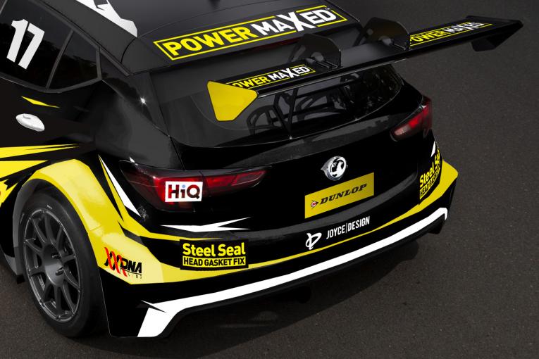 海外レース他   BTCC:ボクスホールのファクトリーチームが復活。2台の新型『アストラ』を投入