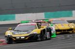 序盤トップを狙った9号車マクラーレンだが、トラブルやコースアウトで後退した。