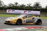 ハブオート・レーシングの35号車フェラーリ488 GT3