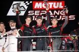 スーパーGT | セパン12時間は15号車アウディが優勝。ハブオートが総合6位/プロ-アマクラス勝利を飾る