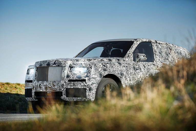 クルマ | ベールを脱いだ超高級SUV。ロールス・ロイス、プロジェクト『カリナン』を公式アナウンス