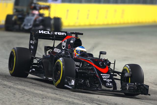 F1 | アロンソ11番手発進。FP1トップはロズベルグ