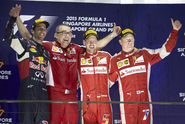 F1   F1シンガポール決勝トップ10ドライバーコメント