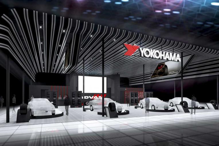 横浜ゴム、東京オートサロン2017に出展