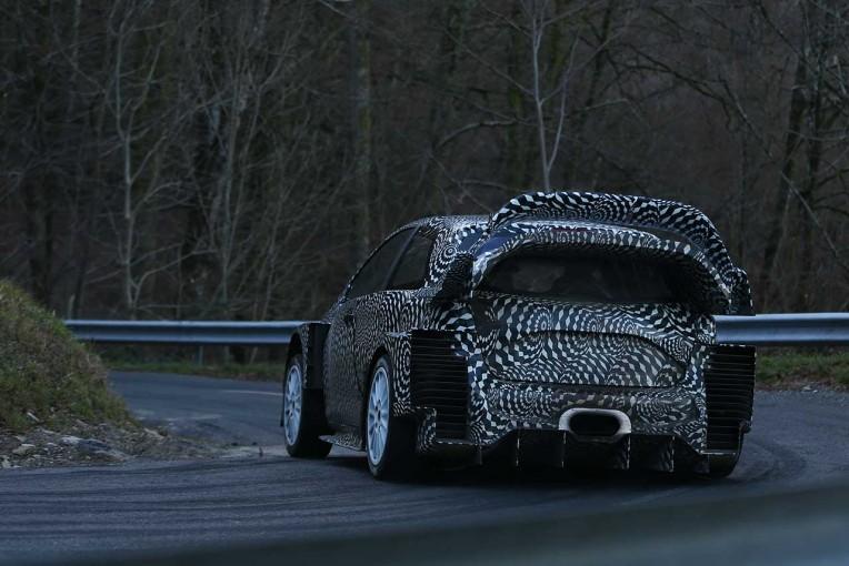 ラリー/WRC | エアロ大幅変更。トヨタ、ヤリスWRC開発テストをメディアに公開