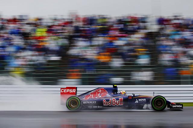 F1 | 日本GP開幕、雨のFP1はトロロッソがトップ発進