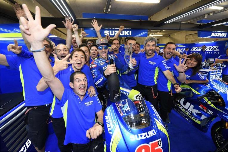 MotoGP   MotoGP:スズキが復帰後初の表彰台を獲得/2016年振り返り 第5戦フランスGP