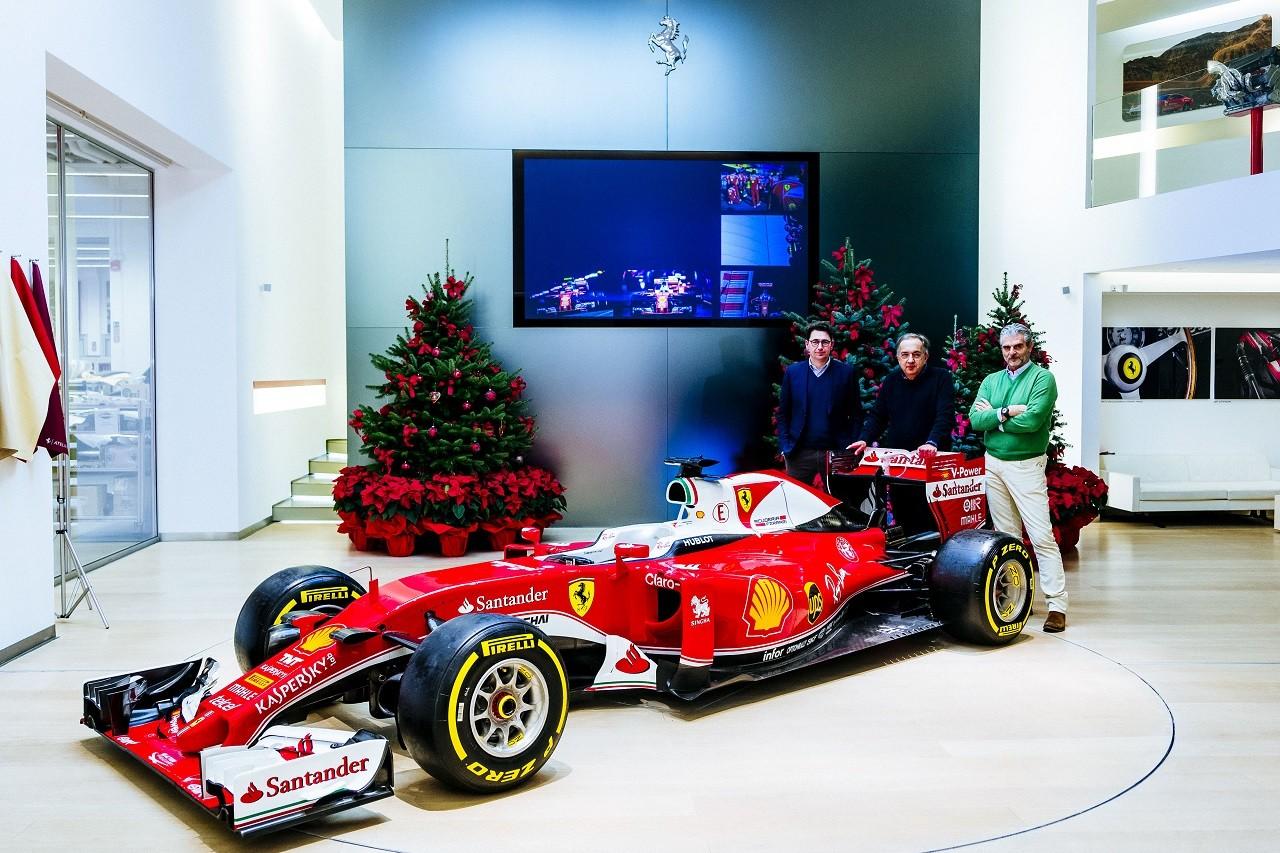 2016年フェラーリのクリスマス・メディアイベント