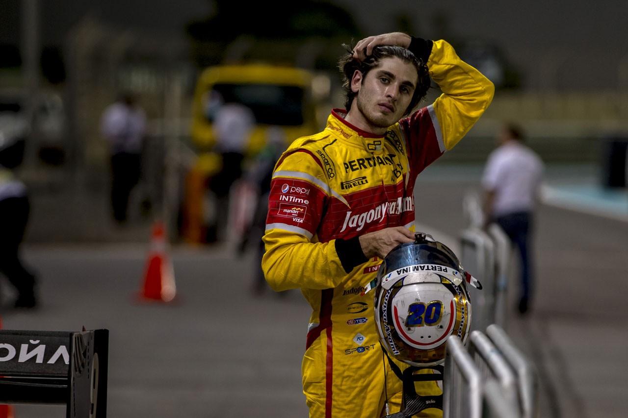 2016年GP2アブダビ戦 アントニオ・ジョビナッツィ
