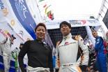 TOYOTA GAZOO Racingラリーチャレンジプログラムで活動する勝田貴元(左)と新井大輝(右)