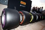 2016年アブダビGP ポール・ヘンベリー(ピレリ)が2017年型F1タイヤを発表