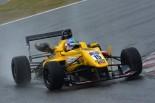 国内レース他 | 全日本F3テスト2日目:ウエットのなか小高一斗がベストタイムをマーク
