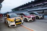 Hitotsuyama GmbHが製作したアウディA1。写真の3台に加え、新造車も製作されている。