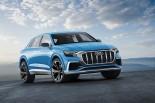 クルマ | アウディ、クーペ型SUV『Q8コンセプト』等3台の新モデルをデトロイトで公開