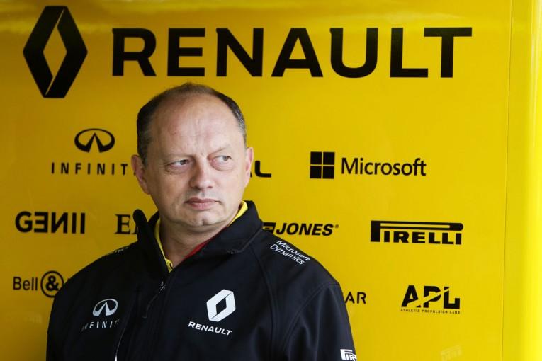 F1 | ルノーF1元代表「チームの成功のため、退任を決めた」