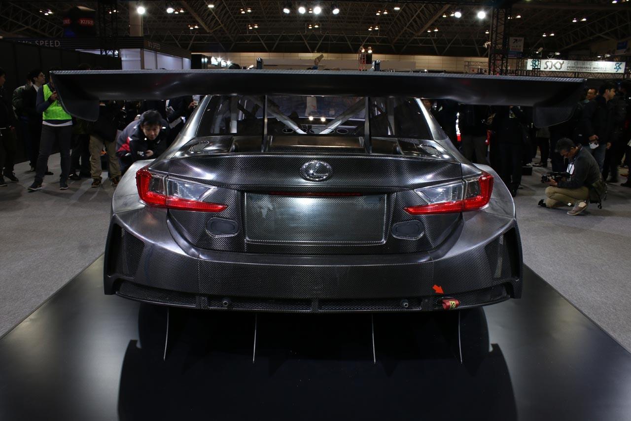 トヨタ、オートサロンで2017年型RC F GT3でワールドプレミア