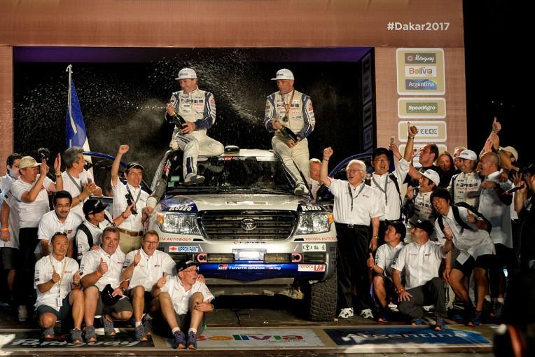 ラリー/WRC | ダカール:TLCが市販車部門4連覇達成。豊田章男社長が祝福のコメント