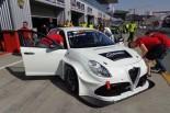 TCR中東でデビューした2017年型アルファロメオ・ジュリエッタTCR