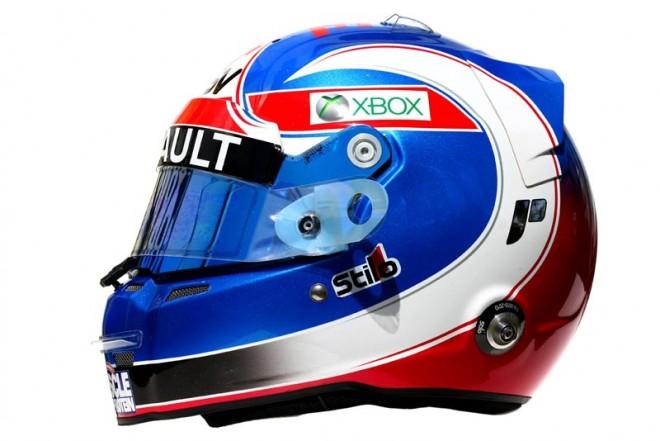 F1   ジョリオン・パーマー 2016年のヘルメット1