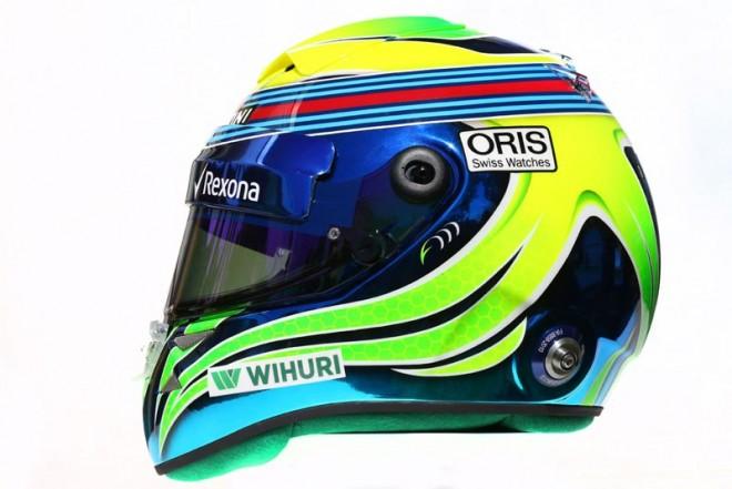 F1   フェリペ・マッサ 2016年のヘルメット1