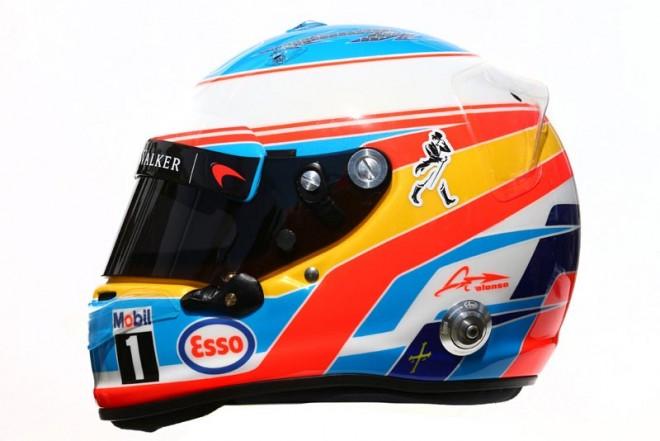 F1 | フェルナンド・アロンソ 2016年のヘルメット1