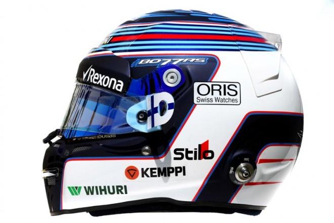 F1 | バルテリ・ボッタス 2016年のヘルメット1