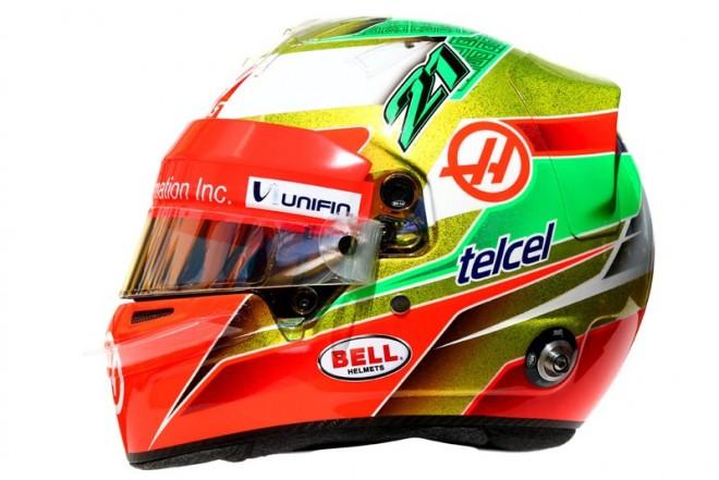 F1 | エステバン・グティエレス 2016年のヘルメット1