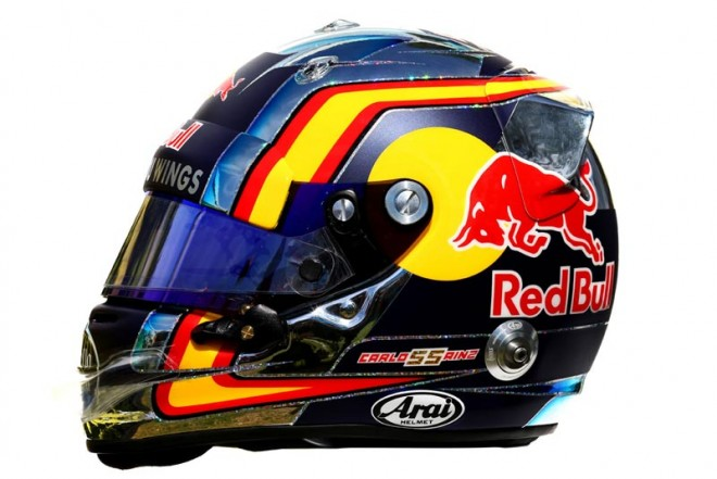 F1 | カルロス・サインツJr. 2016年のヘルメット1