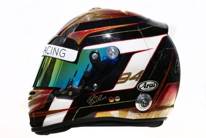 F1   パスカル・ウェーレイン 2016年のヘルメット1