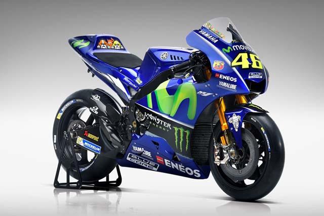 MotoGP   MotoGP:ヤマハ、17年型『YZR-M1』のスタジオショットを公開