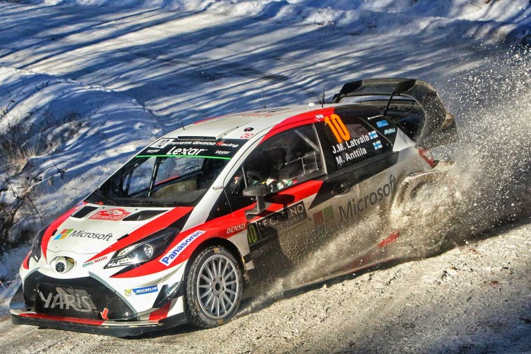 ラリー/WRC | トヨタ・ラトバラが4番手浮上/【順位結果】世界ラリー選手権第1戦モンテカルロ SS8後