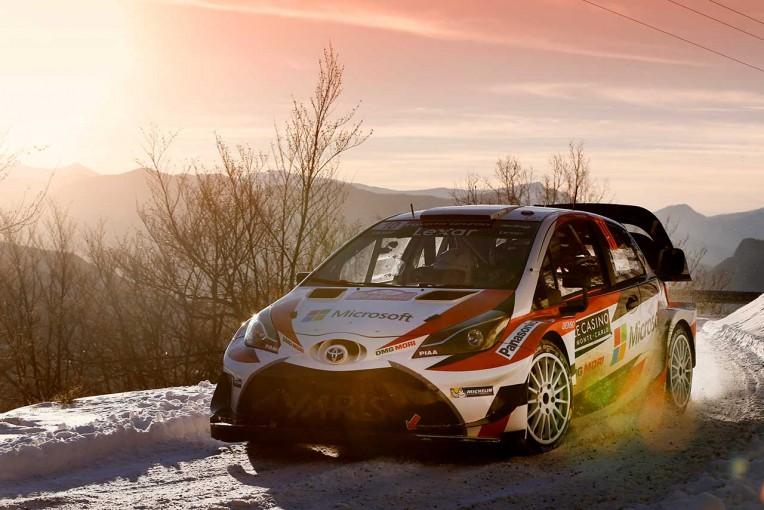 ラリー/WRC | WRC:トヨタ、エースのラトバラが表彰台圏内。「最後まで集中力を保ち続ける」