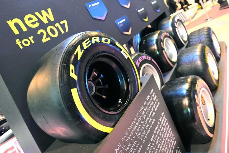 F1 | 変わるのはシャシーだけではない。ピレリタイヤも設計思想を刷新【F1マシン2017大革命】
