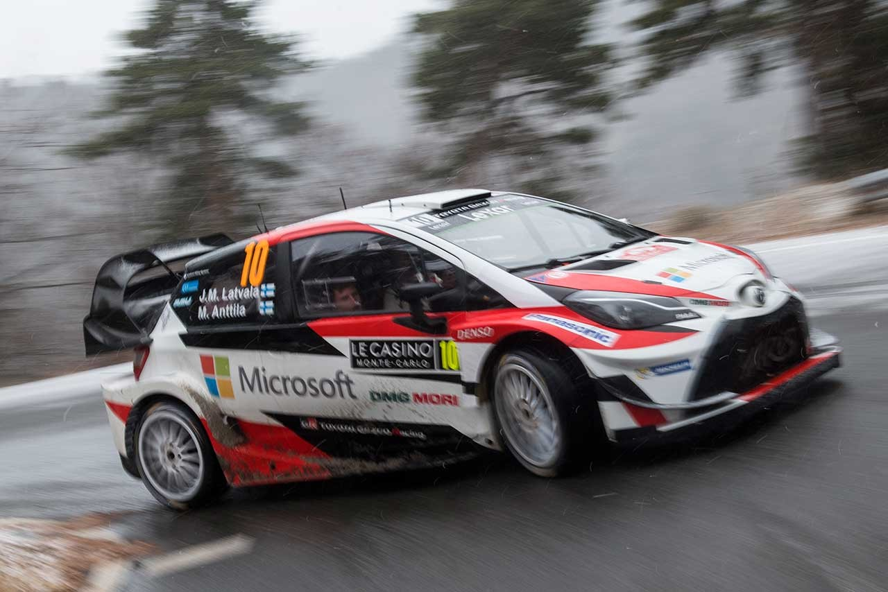 WRC:トヨタ、復帰初戦で表彰台。マキネン「我々にとっては良き船出」