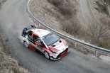 WRC第1戦モンテカルロ ユホ・ハンニネン(トヨタ・ヤリスWRC)