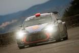 WRC第1戦モンテカルロ ダニ・ソルド(ヒュンダイi20クーペWRC)