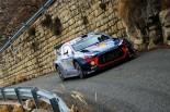 WRC第1戦モンテカルロ ティエリー・ヌービル(ヒュンダイi20クーペWRC)